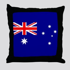 Flag of Australia Throw Pillow